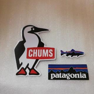 チャムス(CHUMS)の早い者勝ち!チャムス防水ステッカーとおまけ2枚(ノベルティグッズ)