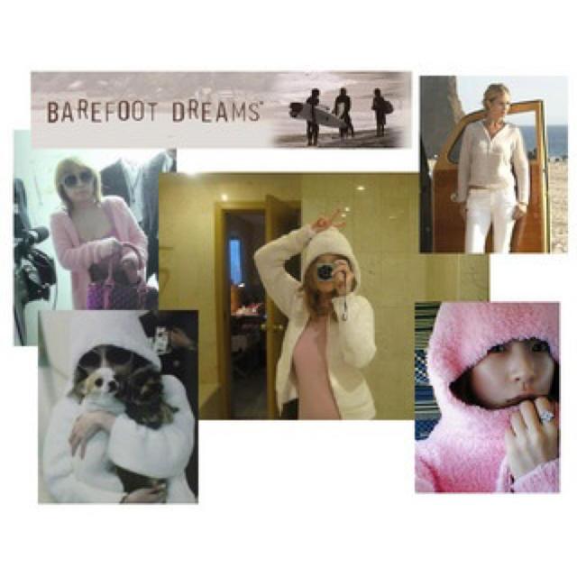 BAREFOOT DREAMS(ベアフットドリームス)のベアフットドリームス もこもこパーカー フーディ 梨花 あゆ 浜崎あゆみ レディースのルームウェア/パジャマ(ルームウェア)の商品写真