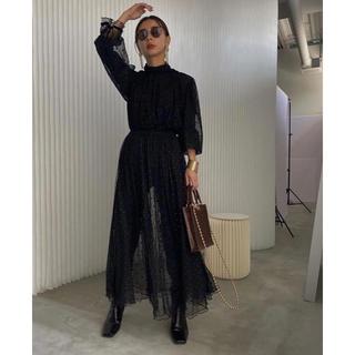 Ameri VINTAGE - 新品 MANY WAY MIX DOT DRESS  Ameri