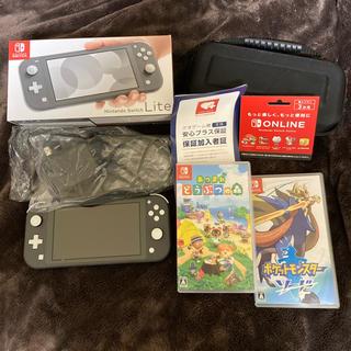 Nintendo Switch Liteグレーとあつ森とポケモン