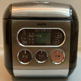 SANYO ECJ-MS30  3合炊き炊飯器