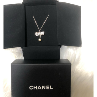 CHANEL - CHANEL リボンネックレス 正規品