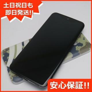 シャープ(SHARP)の美品 801SH AQUOS zero アドバンスドブラック (スマートフォン本体)