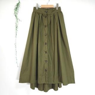 ダブルクローゼット(w closet)のw closet  *美品 ロングヘムラインスカート*(ロングスカート)