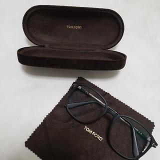 トムフォード(TOM FORD)のトムフォード TOM FORD メガネ 眼鏡 伊達眼鏡 ケース付(サングラス/メガネ)