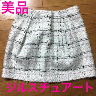 ジルスチュアート(JILLSTUART)の美品ジルスチュアートスカート♡アプワイザーリッシェスナイデルリランドチュールロペ(ミニスカート)