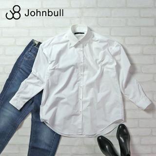 ジョンブル(JOHNBULL)のJohnbull 定価¥16,500 国産 立ち襟ビッグシルエットシャツ(シャツ/ブラウス(長袖/七分))