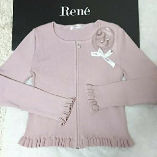 René - *!★Reneルネ★ピンクトップスコサージュ付き