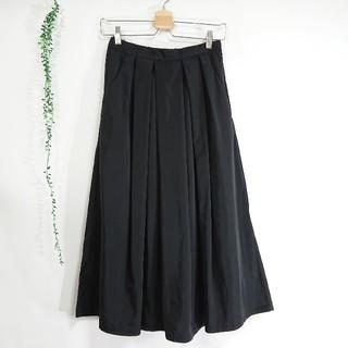 レプシィム(LEPSIM)のLEPSIM *美品 タック膝下丈スカート*(ひざ丈スカート)