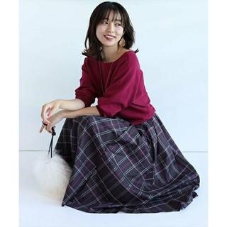 JUSGLITTY - ジャスグリッティー☆チェックタフタスカート
