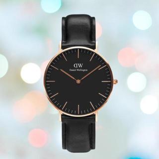 長期保証付き【36㎜】ダニエルウエリントン 腕時計〈DW00100139〉