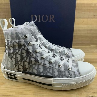 Dior - Dior B23 Oblique High Top Sneakers23.5cm