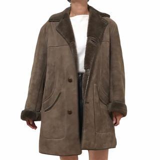 アパルトモンドゥーズィエムクラス(L'Appartement DEUXIEME CLASSE)の専用Vintage ムートン シープスキン コート イギリス製 アパルトモン(ムートンコート)