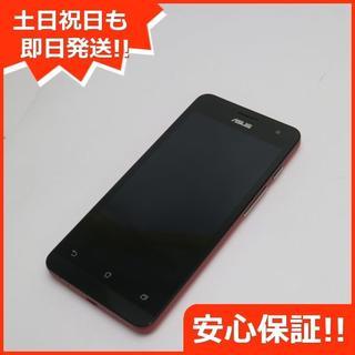 エイスース(ASUS)の超美品 ZenFone5 32GB A500KL レッド (スマートフォン本体)