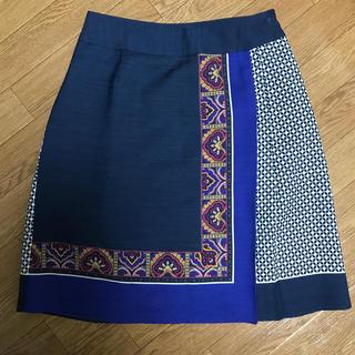 スーナウーナ(SunaUna)の美品 スーナウーナ 台形スカート(ひざ丈スカート)
