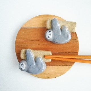 ナマケモノ 箸置きセット