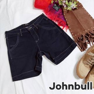 ジョンブル(JOHNBULL)のJohnbull ジョンブル ショートパンツ ブラック(ショートパンツ)