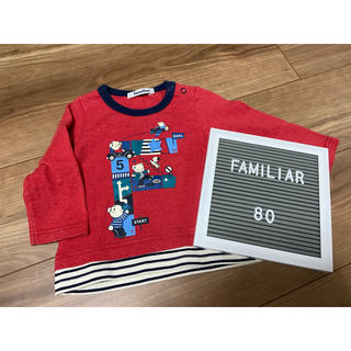 familiar - ファミリア トップス Tシャツ 80