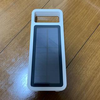 ムジルシリョウヒン(MUJI (無印良品))の無印良品 ソーラー充電器(バッテリー/充電器)