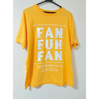 AAA - AAA FAN FUN FAN 西島隆弘 オレンジ Tシャツ