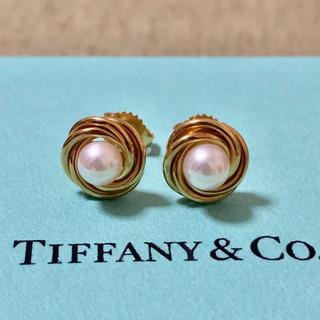 Tiffany & Co. - ティファニー ゴールド パール ピアス K18 750 ヴィンテージ