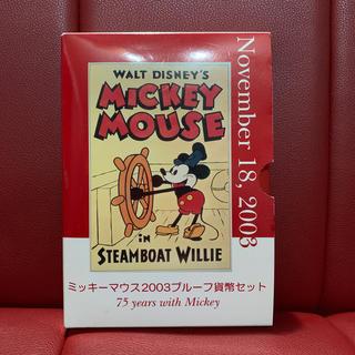 ディズニー(Disney)のDisney Mickey Mouse 2003 プルーフ貨幣セット(貨幣)