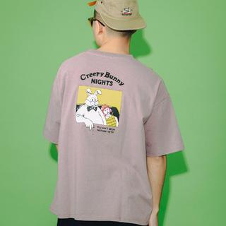 フリークスストア(FREAK'S STORE)のCreepy Bunny NIGHTS グラフィックアートTEE(Tシャツ/カットソー(半袖/袖なし))