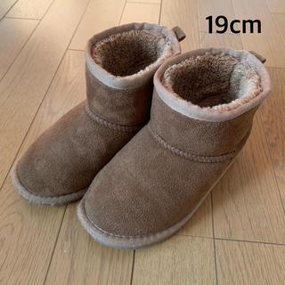 ブランシェス(Branshes)のブランシェス ムートンブーツ(19cm)(ブーツ)