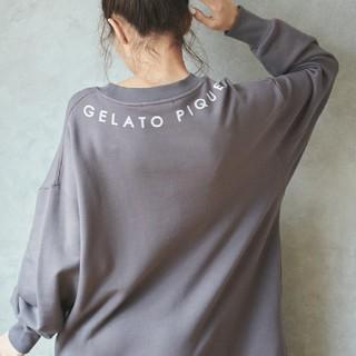 gelato pique - 新品 ジェラートピケ  ロゴスウェットドレス
