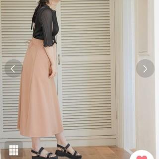 【新品】mysty woman  バックレースアップサス付きスカート
