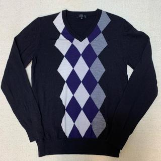 ジュンメン(JUNMEN)のJUNMEN★wool100% Vネックセーター【美品】(ニット/セーター)