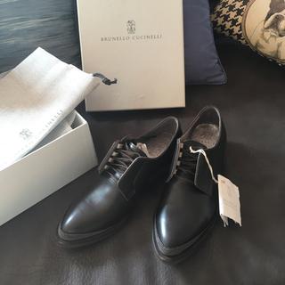 ブルネロクチネリ(BRUNELLO CUCINELLI)の新品 brunello cucinelli ローファー 36 モニーレ(ローファー/革靴)