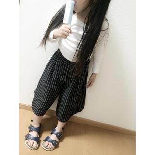ジーユー(GU)のストライプ♡ガウチョパンツ(スカート)