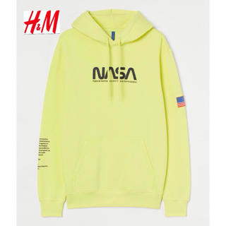 エイチアンドエム(H&M)の新品 安値 H&M × NASA コラボ パーカー M(パーカー)