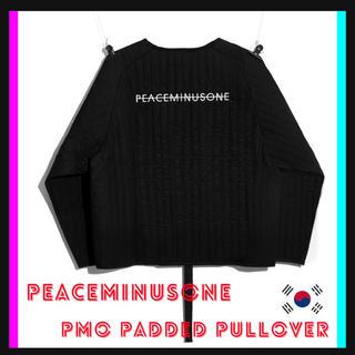 PEACEMINUSONE - 【希少】peaceminusone  PADDED PULLOVER 新作 新品