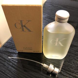 カルバンクライン(Calvin Klein)のカルバンクライン シーケーワン オードトワレ 200ml(ユニセックス)