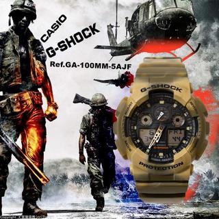 ジーショック(G-SHOCK)のカシオ:G-SHOCK/Ref.GA-100MM-5AJF型/生産終了品(腕時計(デジタル))