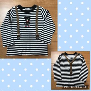 DOUBLE.B - ミキハウス ダブルビー☆ロンT 長袖Tシャツ100 ①