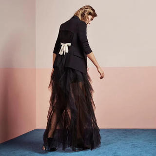 BCBGMAXAZRIA - ❤️BCBG 2020新作 新品 黒ロングスカート