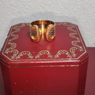 Cartier - カルティエ2C スリーカラーリングK18美品