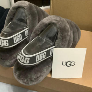 UGG - UGG ファーサンダル