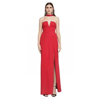 ビーシービージーマックスアズリア(BCBGMAXAZRIA)の❤️BCBG 2020新作 新品 赤、黒ドレス 2 色 綺麗(ロングドレス)