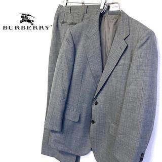 BURBERRY - 美品 日本製 オールド Burberry メンズスーツセットアップ