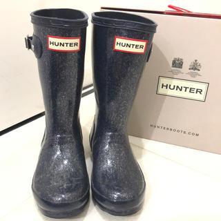 ハンター(HUNTER)のハンター💙レインブーツ 15cm(長靴/レインシューズ)