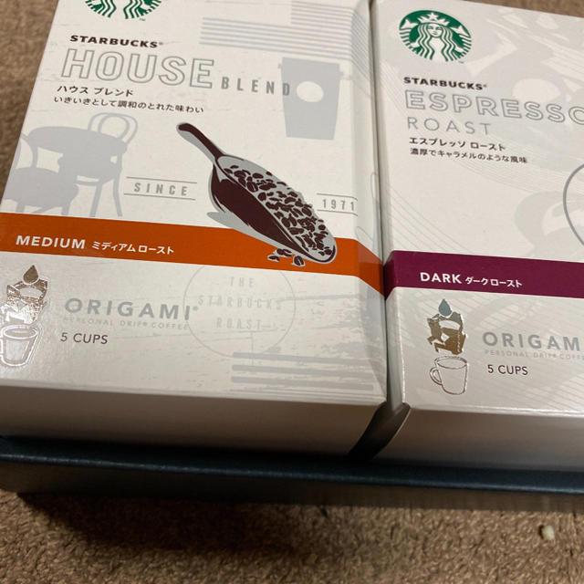 Starbucks Coffee(スターバックスコーヒー)のスターバックス オリガミ パーソナルドリップコーヒー 食品/飲料/酒の飲料(コーヒー)の商品写真