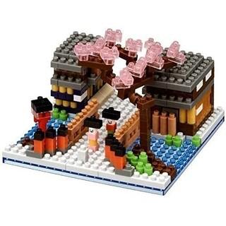 カワダ(Kawada)のナノブロック 華の祇園小路 限定品 nanoblock(模型/プラモデル)