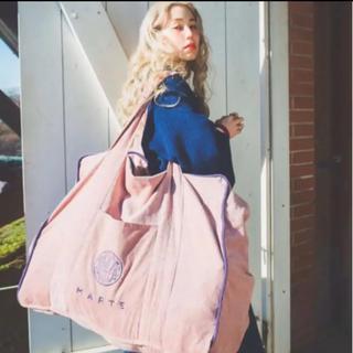 グリモワール(Grimoire)のmarte  バック トラベルバック コーデュロイバック ピンク(スーツケース/キャリーバッグ)