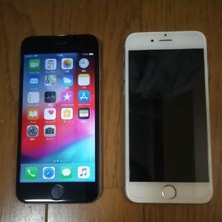 アイフォーン(iPhone)のiPhone6 16GB 2台 ジャンク  SoftBank au(携帯電話本体)
