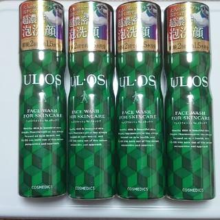 オオツカセイヤク(大塚製薬)のウルオス フェイスウォッシュ 100g 4本セット(洗顔料)