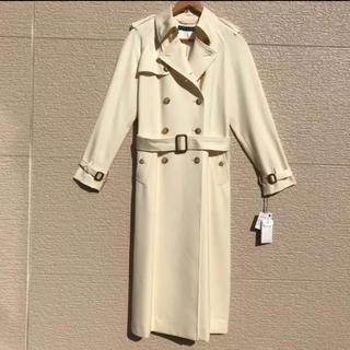 ラルフローレン(Ralph Lauren)の新品 ラルフローレン トレンチコート レディース 国内正規 アイボリー 9(トレンチコート)